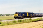 CSX 9993 & 9992 pull business cars